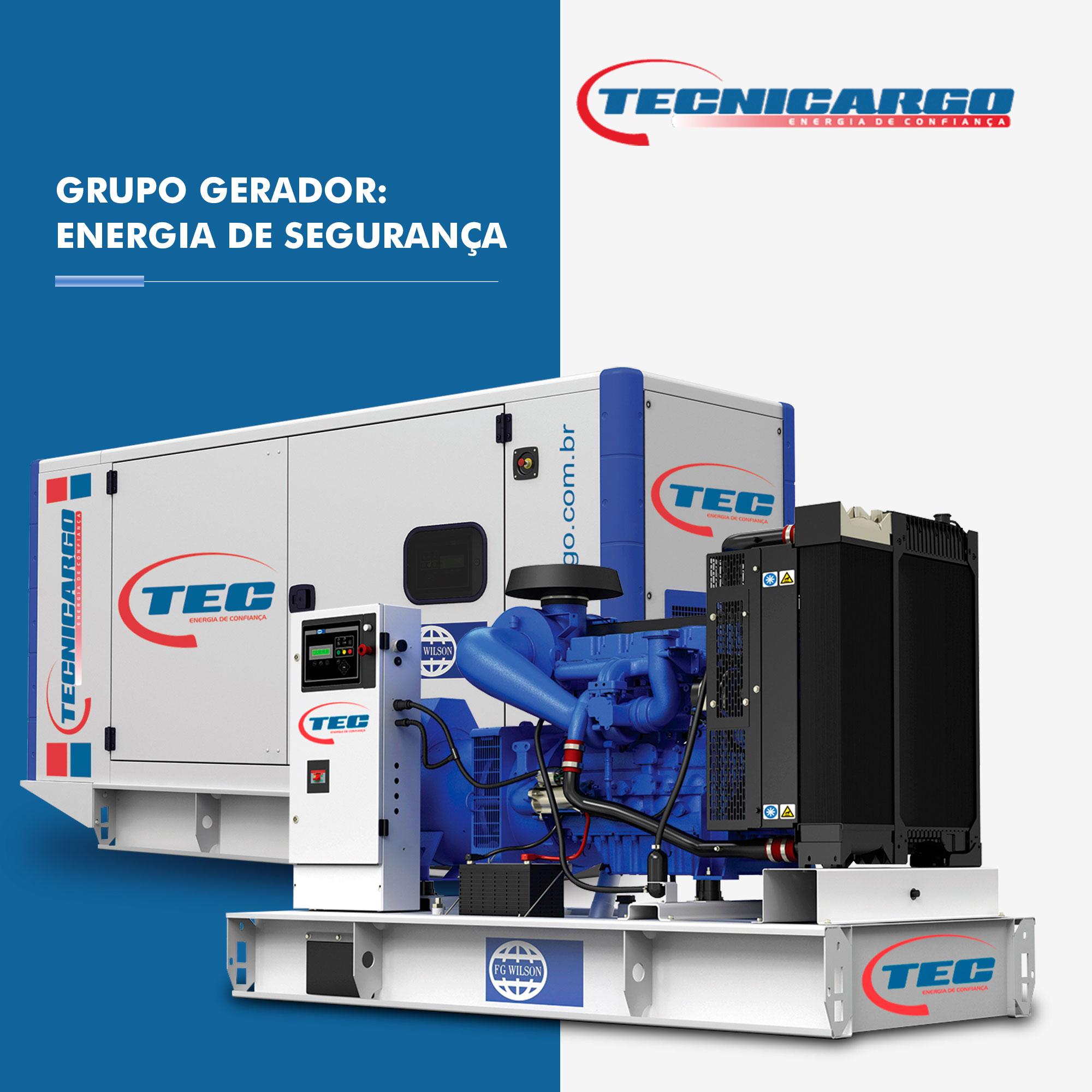 Grupo Gerador: Energia de Segurança